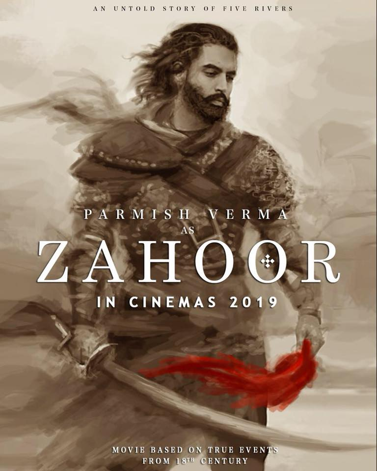 zahoor upcoming punjabi movie 2019 parmish verma