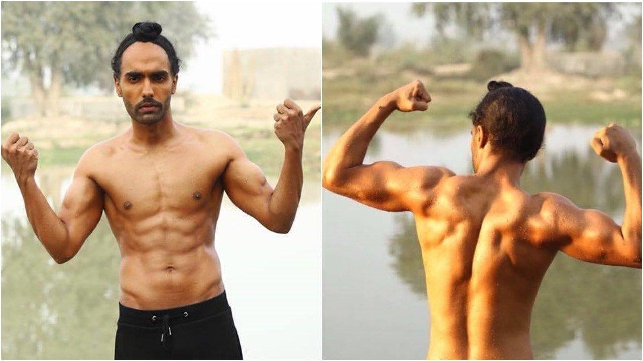 ammy virk body transformation for harjeeta