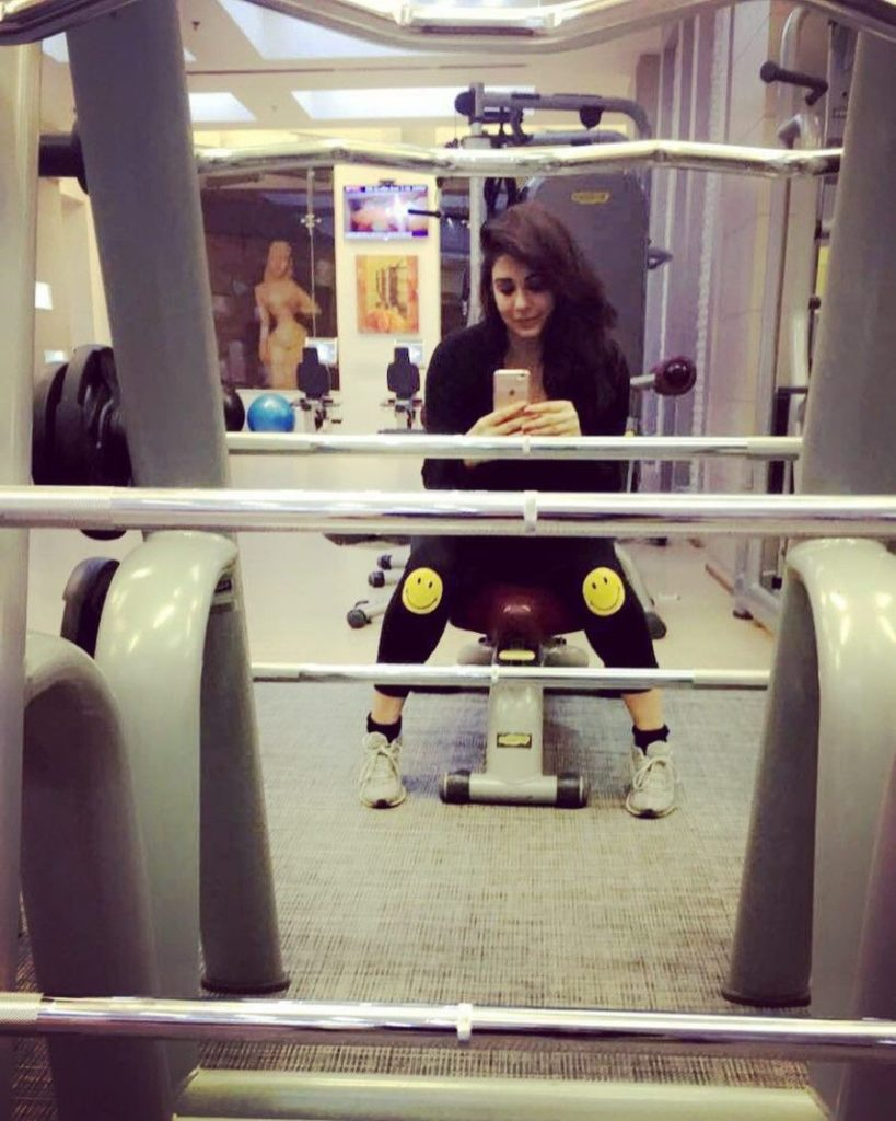 mandy thakhar gym hot