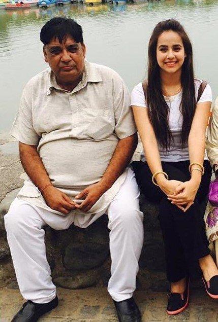 Sunanda sharma father