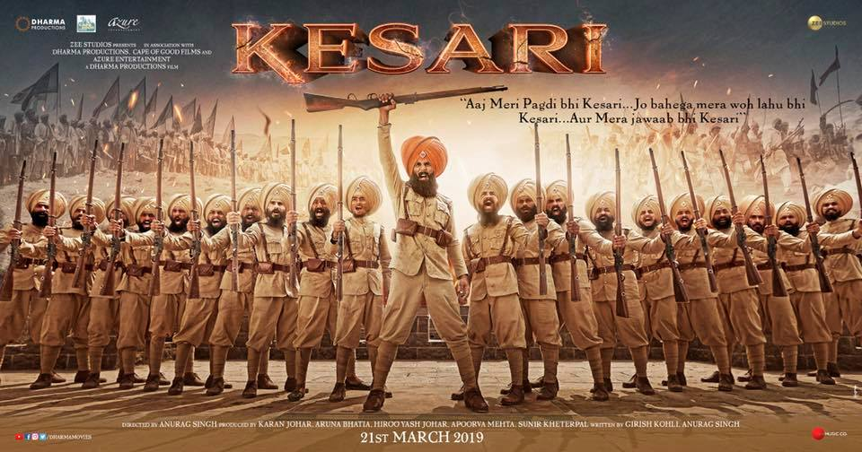 KESARI MOVIE FULL INFO, STAR CAST, STORY, RELEASE DATE, TRAILER AKSHAY KUMAR