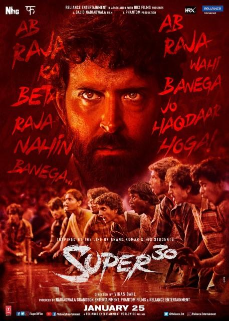 SUPER 30 Movie Full Star Cast & Crew, Songs, Story, Release Date HRITHIK ROSHAN