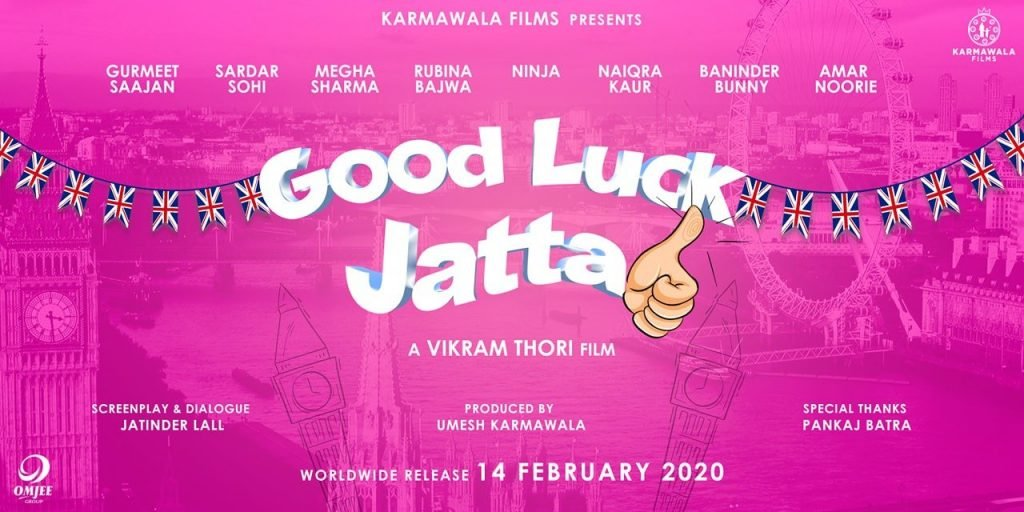 GOOD LUCK JATTA MOVIE NINJA